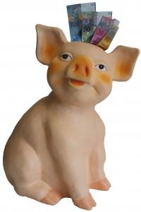 Spar Schwein frei